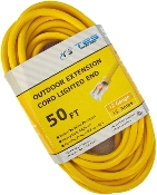 12 Gauge 50 Ft. SJTW Yellow Cord